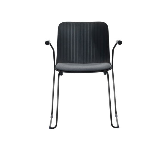 Dragonfly | Chair with armrests - sled base by Segis | Multipurpose chairs