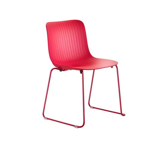 Dragonfly | Chair - sled base von Segis | Stühle