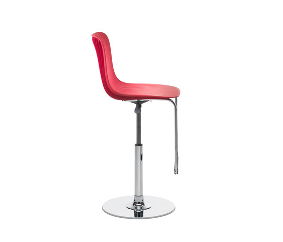 Dragonfly | Swivel stool adjustable height von Segis | Barhocker