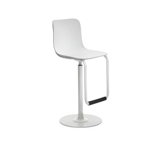 Dragonfly | Swivel stool H.75 cm fixed height by Segis | Bar stools