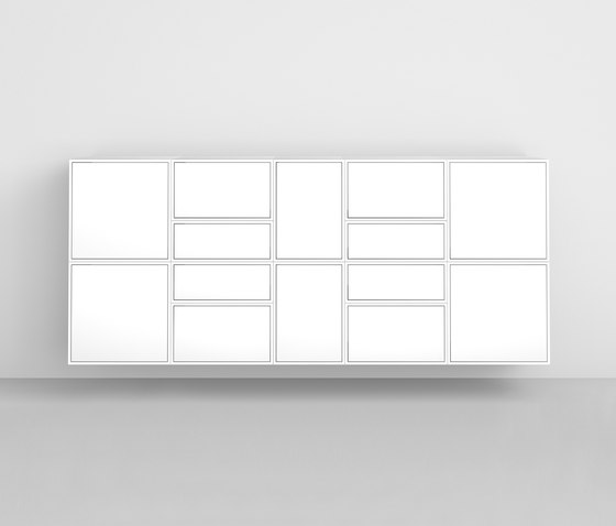 Cubit shelving system by Cubit | Sideboards