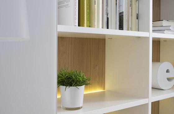 Sinus by Sudbrock | Wall storage systems