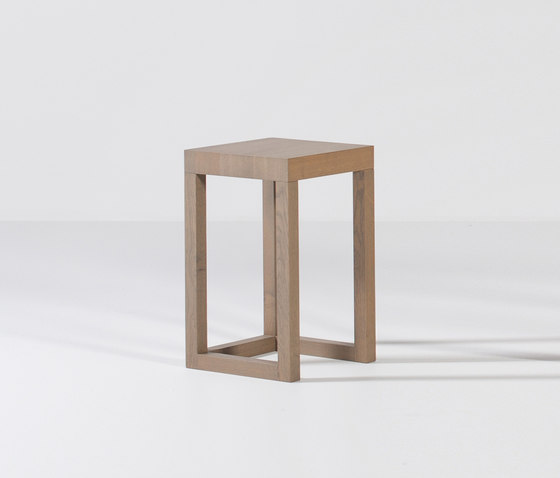 Lof Lamp table with frame leg by Van Rossum | Side tables
