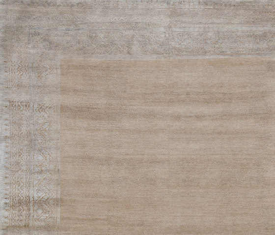 Mauro & Spice | Mauro Blueberry Border by Jan Kath | Rugs
