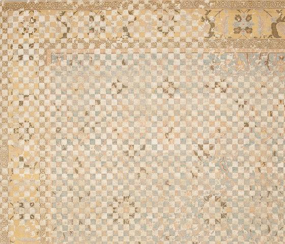 Erased Heritage | Ziegler Prince Checker Raved von Jan Kath | Formatteppiche