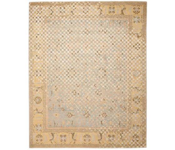 Erased Heritage   Ziegler Prince Checker Raved by Jan Kath   Rugs