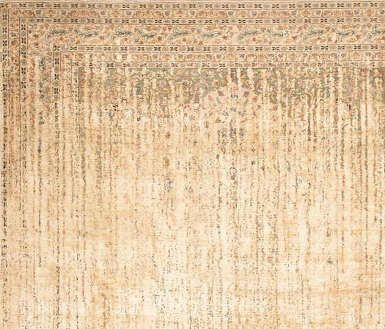 Erased Heritage | Tabriz Park Double Vendetta by Jan Kath | Rugs