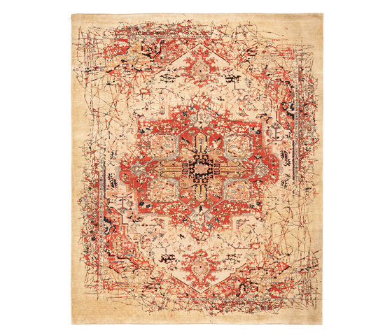 Erased Heritage | Serapi Westminster Pleasure by Jan Kath | Rugs / Designer rugs