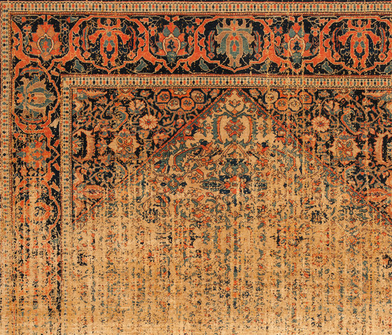 Erased Heritage | Serapi Queensbury Vendetta by Jan Kath | Rugs