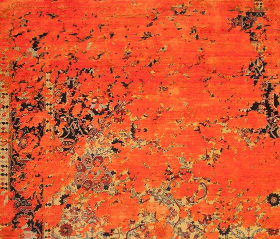 Erased Heritage | Serapi Queensbury Aerial von Jan Kath | Formatteppiche