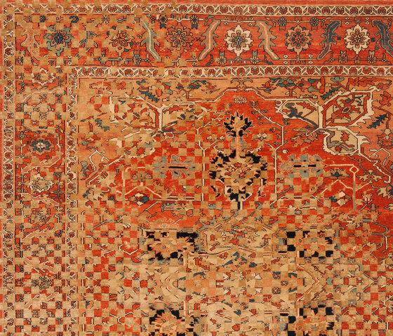 Erased Heritage | Serapi Victoria Checker Raved by Jan Kath | Rugs