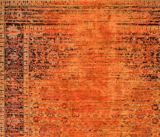 Erased Heritage | Serapi Queensbury Stomped Reverse by Jan Kath | Rugs