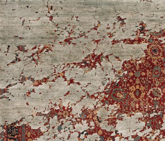 Erased Heritage | Bidjar Aerial von Jan Kath | Formatteppiche