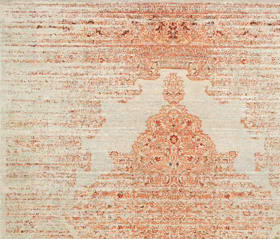 Erased Heritage | Tabriz Fashion Stomped by Jan Kath | Rugs