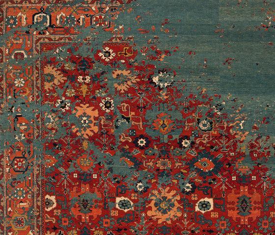 Erased Heritage | Bidjar Kingscross Rocked von Jan Kath | Formatteppiche