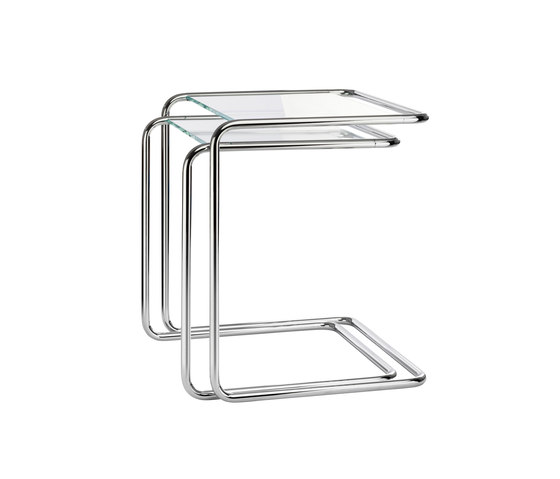 B 97 glass by Thonet | Nesting tables
