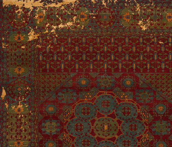 erased heritage mamluk kensington little rocked tapis. Black Bedroom Furniture Sets. Home Design Ideas