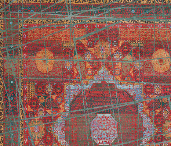 Erased Heritage | Mamluk Columbus Wrapped von Jan Kath | Formatteppiche