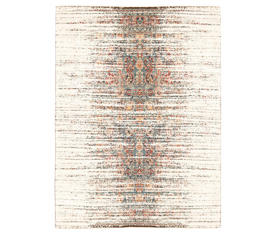Erased Heritage   Tabriz Canal Stomped by Jan Kath   Rugs