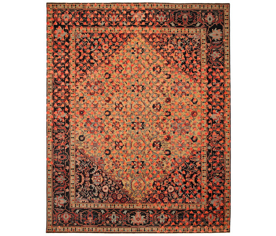 Erased Heritage | Serapi Queensbury Broken Heart by Jan Kath | Rugs