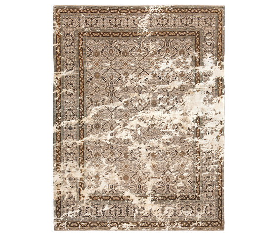 Erased Heritage | Tabriz Lexington Sky by Jan Kath | Rugs