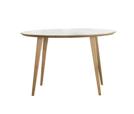 Bob Table Round by ONDARRETA | Canteen tables