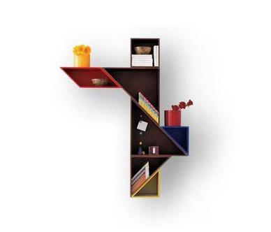 Tangram_shelf by LAGO   Shelving
