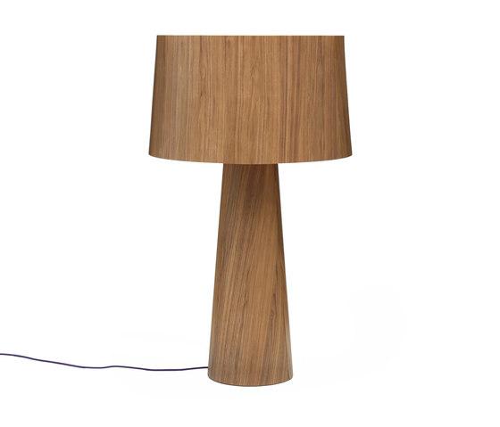 Sophie floor tall walnut by lasfera | Free-standing lights