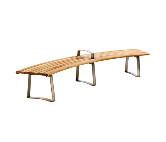 Meko by Benchmark Furniture Bench Curved