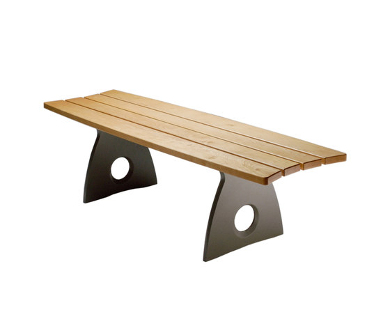 Smart Alex Straight Bench by Benchmark Furniture | Exterior benches