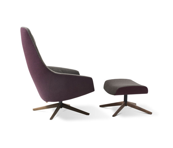 Puk by Montis   Lounge chairs with footstools