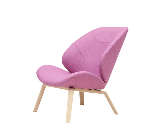 Eden Chair by Softline A/S | Lounge chairs