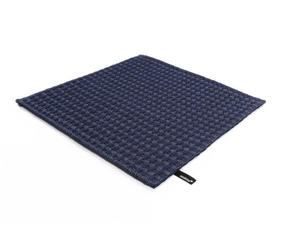 Metronic Vol. 4 blue / darkblue by Miinu | Rugs / Designer rugs