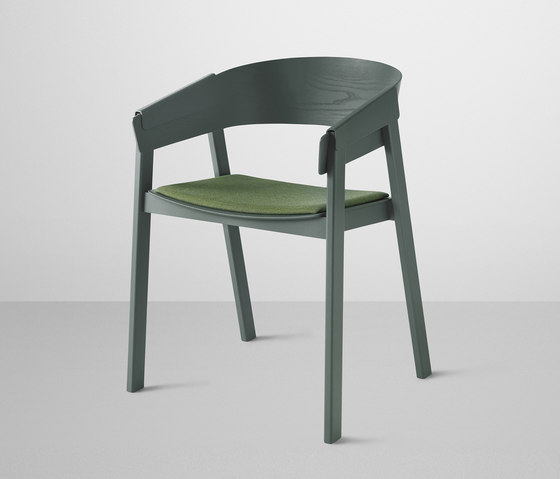 Cover Chair | upholstered by Muuto | Visitors chairs / Side chairs