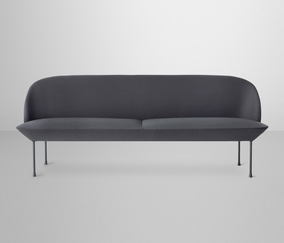 Oslo | 3-seater by Muuto | Lounge sofas