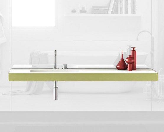 Depth_basin by LAGO | Vanity units
