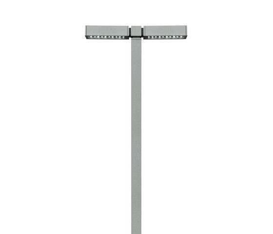 Park double pole by Simes | Street lights