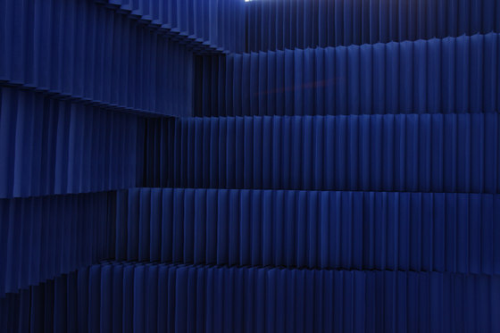 softblock | indigo blue kraft paper by molo | Space dividers