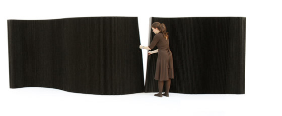 softblock | black paper by molo | Space dividers