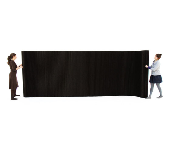 softwall | black paper by molo | Space dividers
