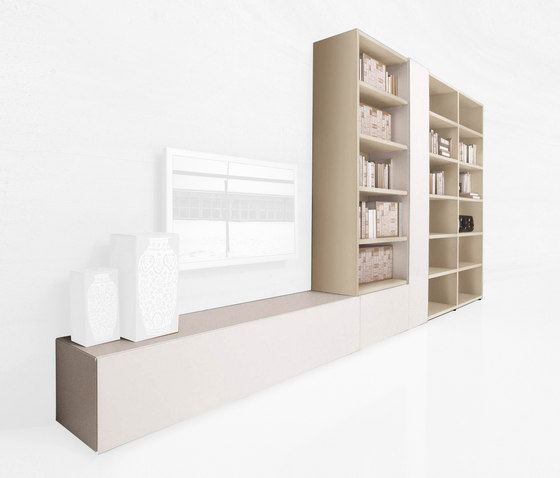 30mm_storage by LAGO | Wall storage systems