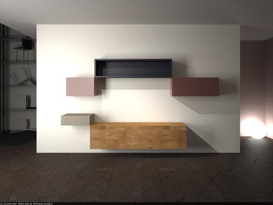 36e8 Wildwood_storage by LAGO | Wall storage systems