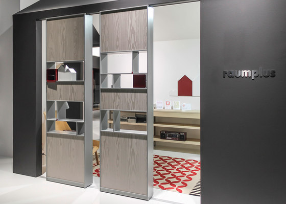 Rima Fino interior system by raumplus | Partitions