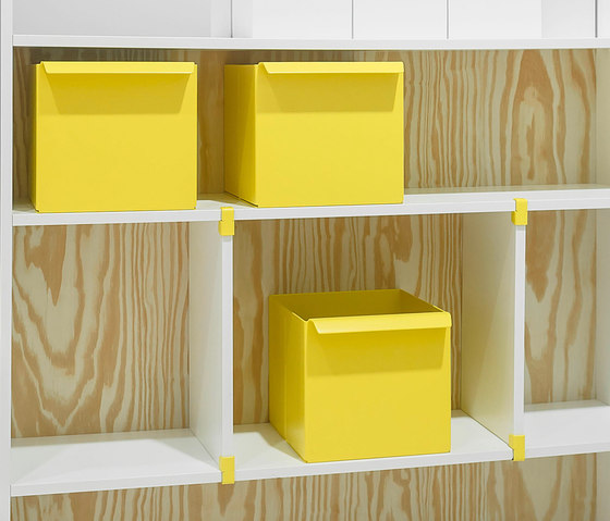 Rima Fino interior system by raumplus | Storage boxes