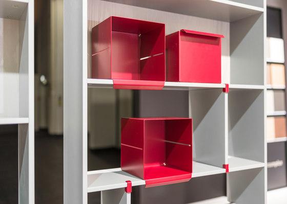 Rima Fino interior system by raumplus | Storage boxes
