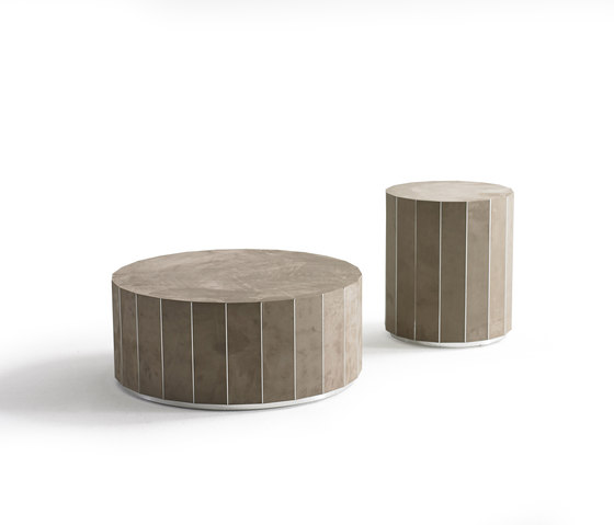 Infinity Side Table round de Yomei | Mesas auxiliares
