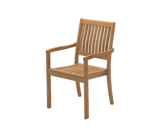 Kingston Stacking Chair with Arms de Gloster Furniture GmbH | Sillas