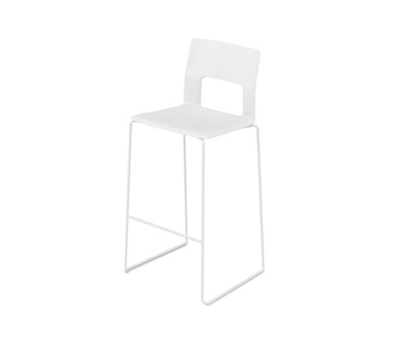 Kobe sledge barstool by Desalto | Bar stools