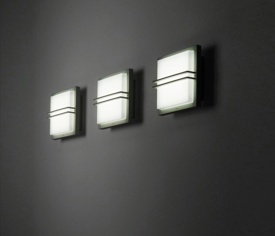 Zen square with grill by Simes | Wall lights