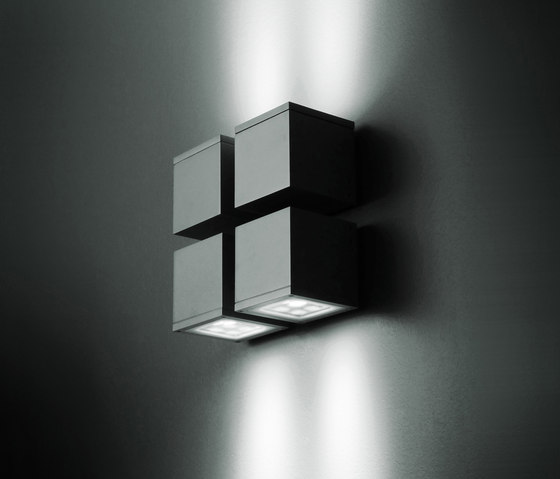 Microloft square wall mounted by Simes | Wall-mounted spotlights